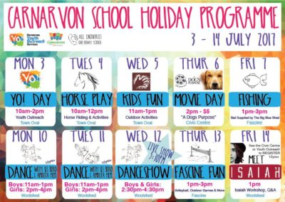 School Holiday Program – Poster Design