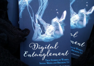 Digital Entanglement – Book Cover Design