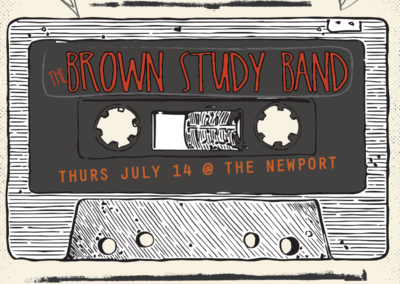 The Brown Study Band – Poster Design