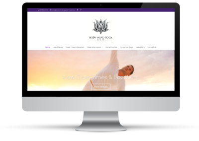 Body Mind Yoga Perth – Logo & Web Design