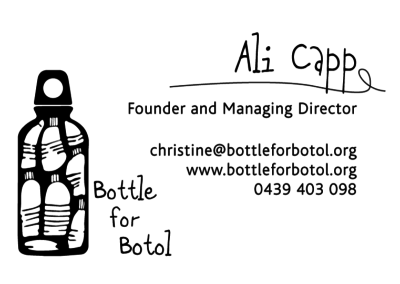 Bottle for Botol – Business Cards