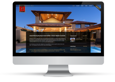 Spadaccini Homes – Web Design