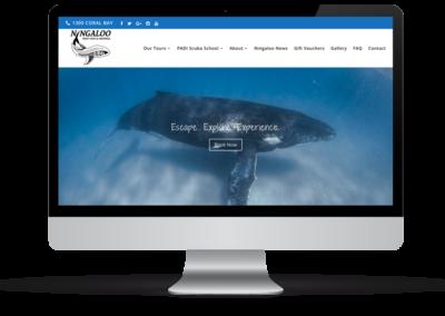 Ningaloo Reef Dive & Snorkel – Web Design, E-Commerce + Marketing